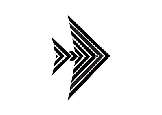 symbol of an angelfish