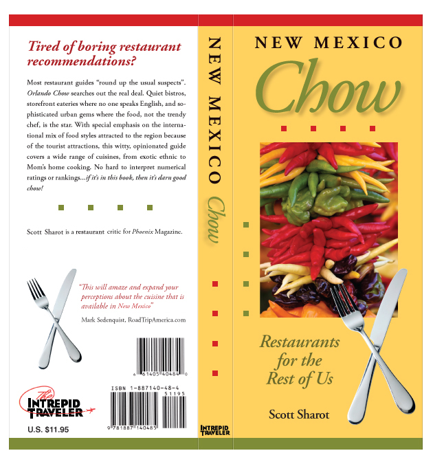 Front and Back Cover of New Mexico Chow