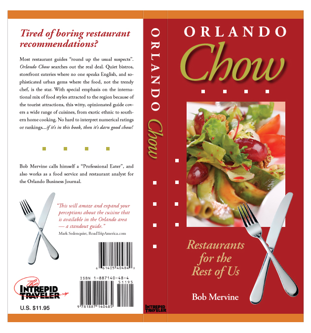 Front and Back Cover of Orlando Chow