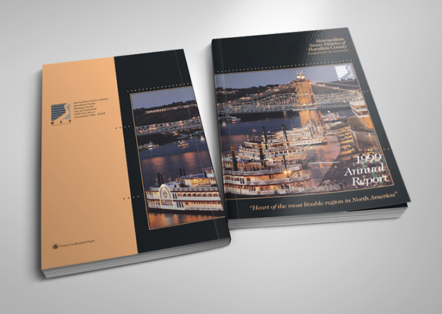 Annual Report Wrap-around Cover