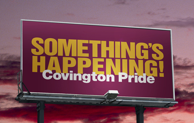 Covington Pride Billboard
