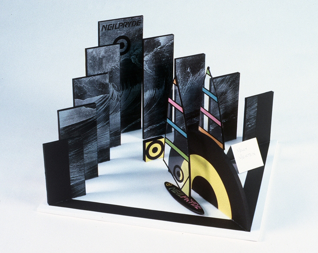 Student Design for Trade Show Exhibit - Model
