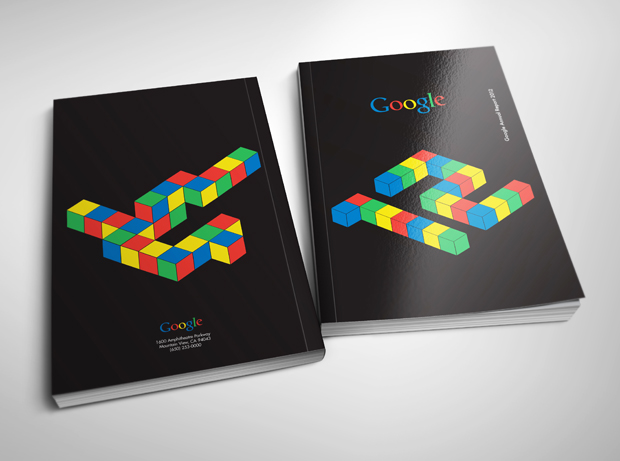 Student Redesign of the Google Annual Report