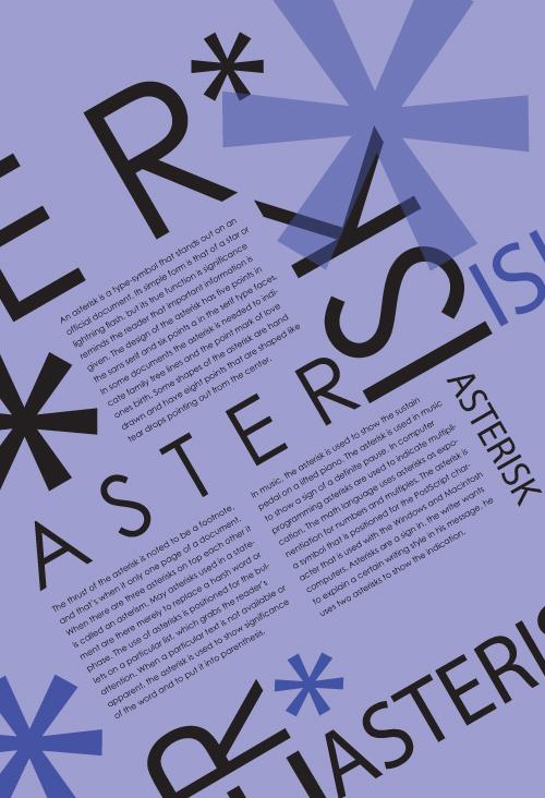 Typographic Poster 2 - Terrendus Weaver