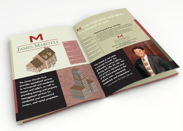 Inside of Capabilities Brochure