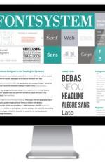 (Above) Fontsystem Blog Page