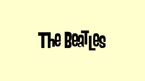 2 Beatles Text