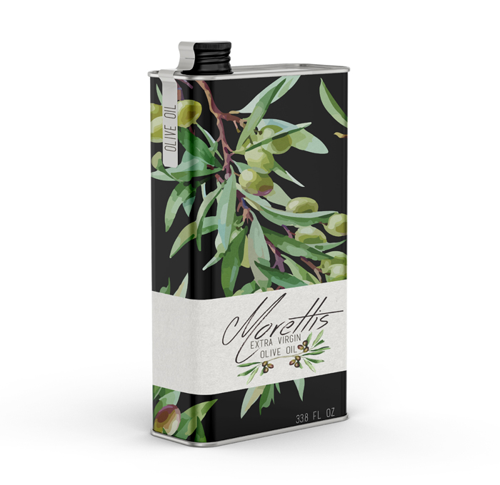Metal Packaging: Olive Oil
