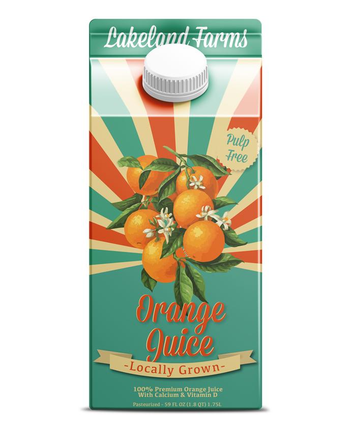 Paperboard: Orange Juice